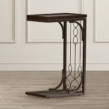 tray top end table amazon com echyngham tray top end table unique side table kitchen