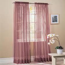 multi color door window scarf solid sheer drape panel scarf