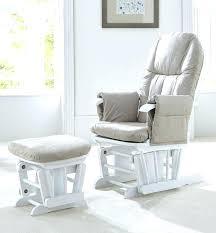 white glider rocking nursery chair nursery rocker and gliders