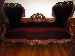 Victorian Loveseats Vintage Victorian Loveseat U2013 Home Design And Decor
