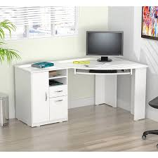 Overstock Corner Desk Inval Laricina White Corner Desk Free Shipping Today Overstock