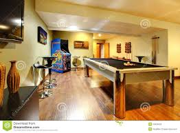Images Of Home Interior Play Party Room Home Interior With Pool Table Royalty Free Stock