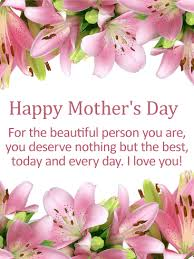 to the best mom happy mother s day card birthday to my beautiful mom happy mother s day card birthday greeting