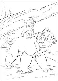 brother bear bear coloring