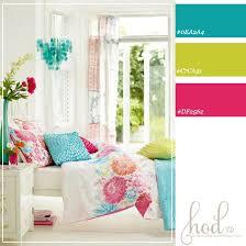 bedroom bright color schemes at home interior designing