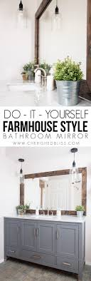 diy bathroom mirror ideas 29 best diy mirror ideas and designs for 2018