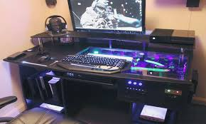 Building A Gaming Desk by Computer Table Desk Computer Case Ultimate Gaming Pc Custom
