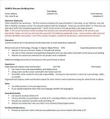 sample resume for internship in computer science student latex