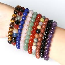 natural stone beaded bracelet images 8mm natural stone lapis carnelian malachite tiger eye round beads jpg