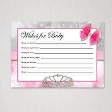 wishes for baby cards free printable baby shower wish cards for baby