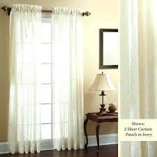 White Sheer Curtains White Semi Sheer Curtains Renaniatrust