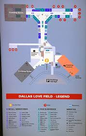 Chicago Ord Terminal Map by The Changing Face Of Dallas Love Field Delta Air Lines To Exit