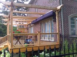 Deck Canopy Awning Side By Side Retractable Awnings Shadefx Canopies Exterior