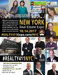 new york is the place to be on october 14th for realty411 u0027s