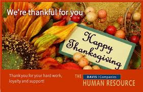 wishing you and yours a happy thanksgiving
