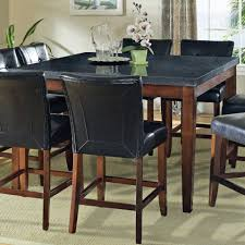 Granite Dining Room Tables by Steve Silver Granite Bello Granite Top Counter Height Leg Table