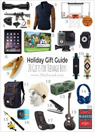 holiday gift guide gifts teen boys christmas shopping list