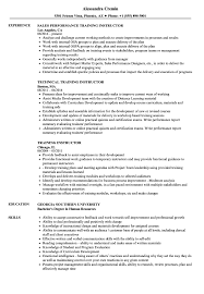 resume format for computer teachers doctrine training instructor resume sles velvet jobs