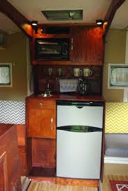 Camper Trailer Kitchen Ideas Vintage 1965 Serro Scotty Sportsman 13 U0027 Canned Ham Travel Trailer