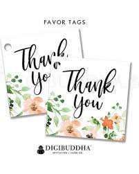 thank you tags check out these hot deals on floral favor tag bridal gift tag pretty