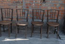 Thonet Vintage Chairs Old Thonet Chairs Set 4 Omero Home