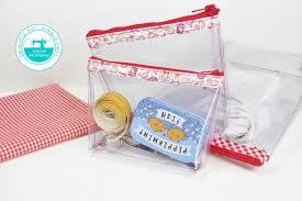 pencil bag diy clear pencil cosmetic bag