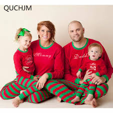 family matching pajamas family set