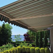 What Are Awnings Retractable Awnings And Screens Rainier Shade