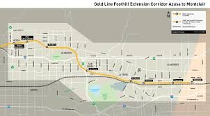 Metrolink Los Angeles Map by Moregold Metro Net Metro Gold Line Foothill Extension