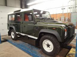 tan land rover gallery