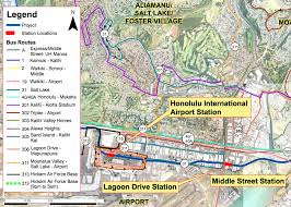 Honolulu Airport Map Say Yes To The Honolulu Rail System Audience U0027tell Us More About