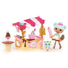 amazon com mini lalaloopsy playset scoops serves ice cream