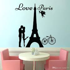 wall ideas wall decor stickers for baby girl room decorative decorative wall stickers ikea uk 2017 hot sale angels love paris wall decals lover kissing and bike removable home decor wall art sticker diy wall sticker