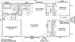ranch house floor plans open plan ranch floor plans open concept simple open house plans medium house
