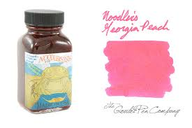 noodler u0027s georgia peach 3oz bottled ink