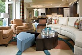 building a sectional sofa modern beige circular sectional sofa bed with pillows in front of