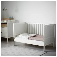 How To Convert A Crib To A Toddler Bed by Sundvik Crib Ikea
