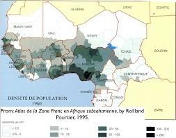 africa map ivory coast the demographic dimensions of the conflict in ivory coast
