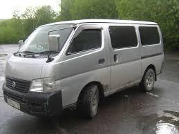 nissan urvan for sale 2001 nissan caravan pics 2 0 gasoline fr or rr automatic for sale