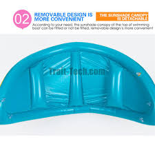 Swimming Pool Canopy by Safety Baby Swimming Float Inflatable Angle Adjustable Sunshade