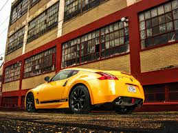 nissan 370z yellow edition 2018 nissan 370z heritage edition past present and future feels