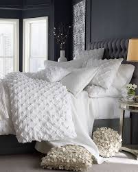 Linen Covers Gray Print Pillows White Walls Grey 40 Gray Bedroom Ideas Decoholic