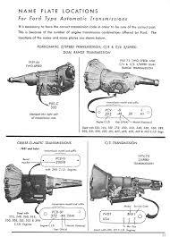 mustang c6 transmission hotrod ford c4 c6 transmission data and links