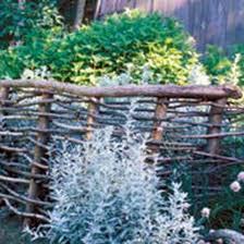 make simple beautiful garden fences and trellises organic