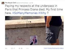 Princess Diana S Grave Diana U0027s Chef Accuses Earl Spencer Of Neglecting Her Final Resting