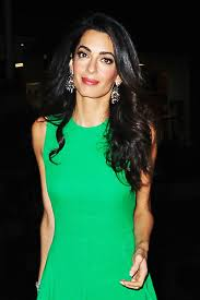 is amal clooney hair one length perfectly imperfect lips amal clooney lily rose depp and more