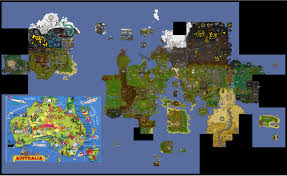 Oldschool Runescape World Map by Suggestion Instead Of Moving Australia Why Not Put Australia