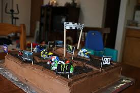 i hold all the cards dirt bike cake