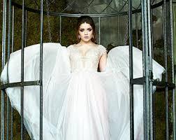 color wedding dresses color wedding dress etsy