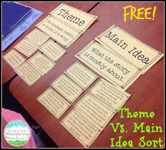 free reading worksheets from the teachers guide main idea multiple